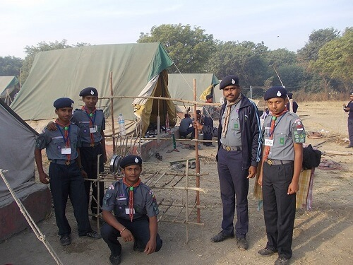 Scouts In President Award Testing Camp