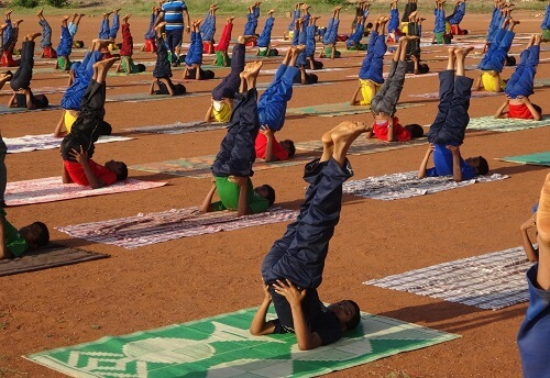 YOGA Programme By JNV Students