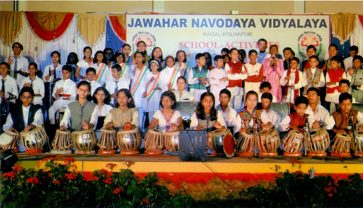 Music activities in JNV Kolhapur